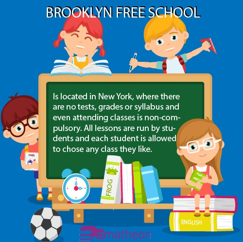 Brooklyn Free School! One of the most unusual schools in the world