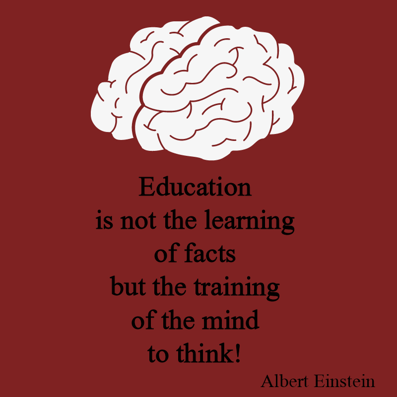 Education is not…